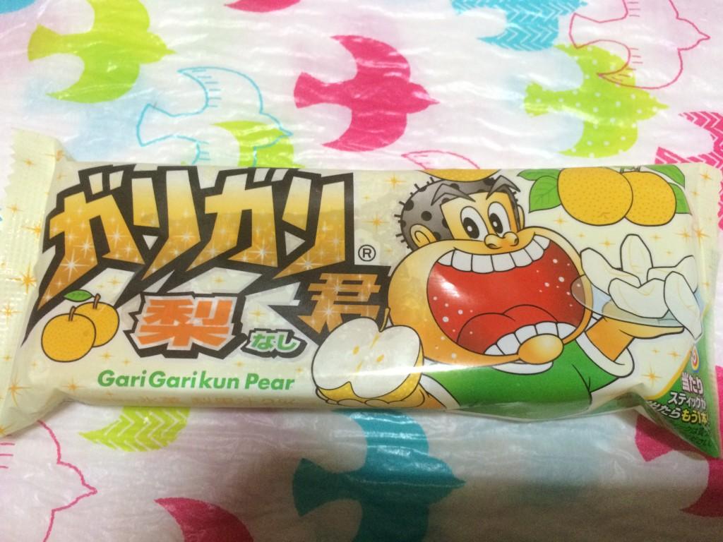ガリガリ君-梨味