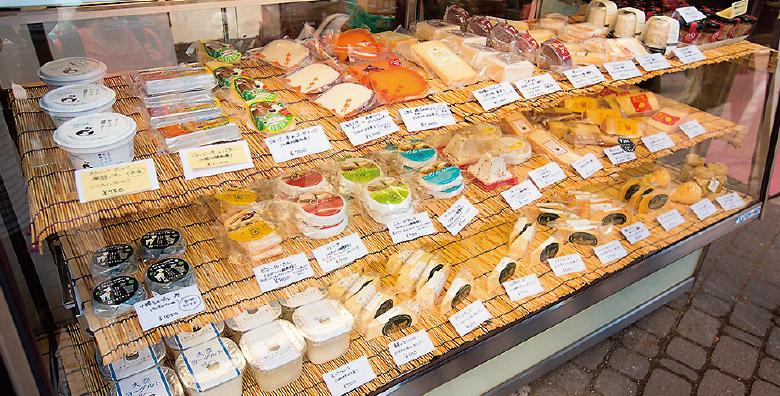 北海道ナチュラルチーズのマーケット