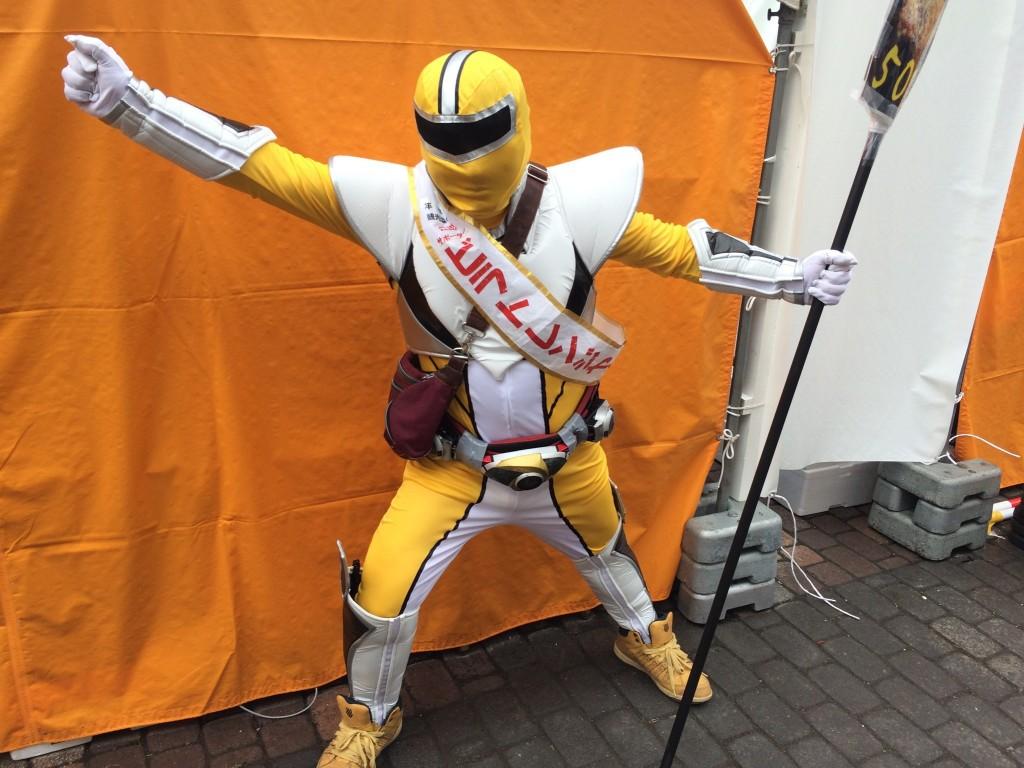 平取町の謎のレンジャー
