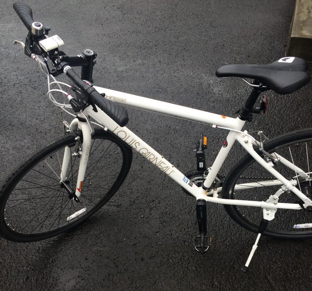 通勤に使っている自転車