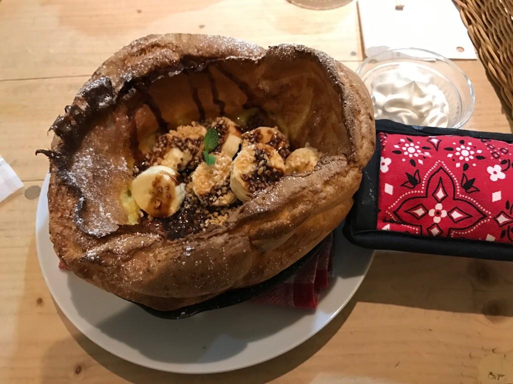 ダッチベイビー_バナナチョコレート