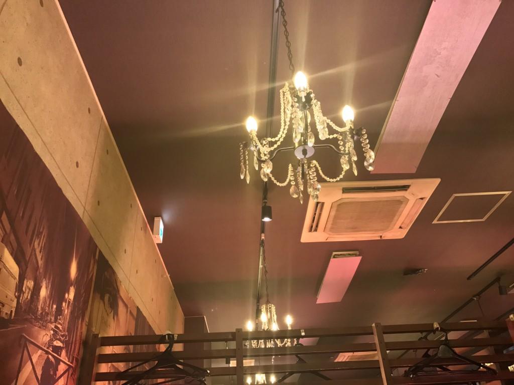 エスパニョールの天井