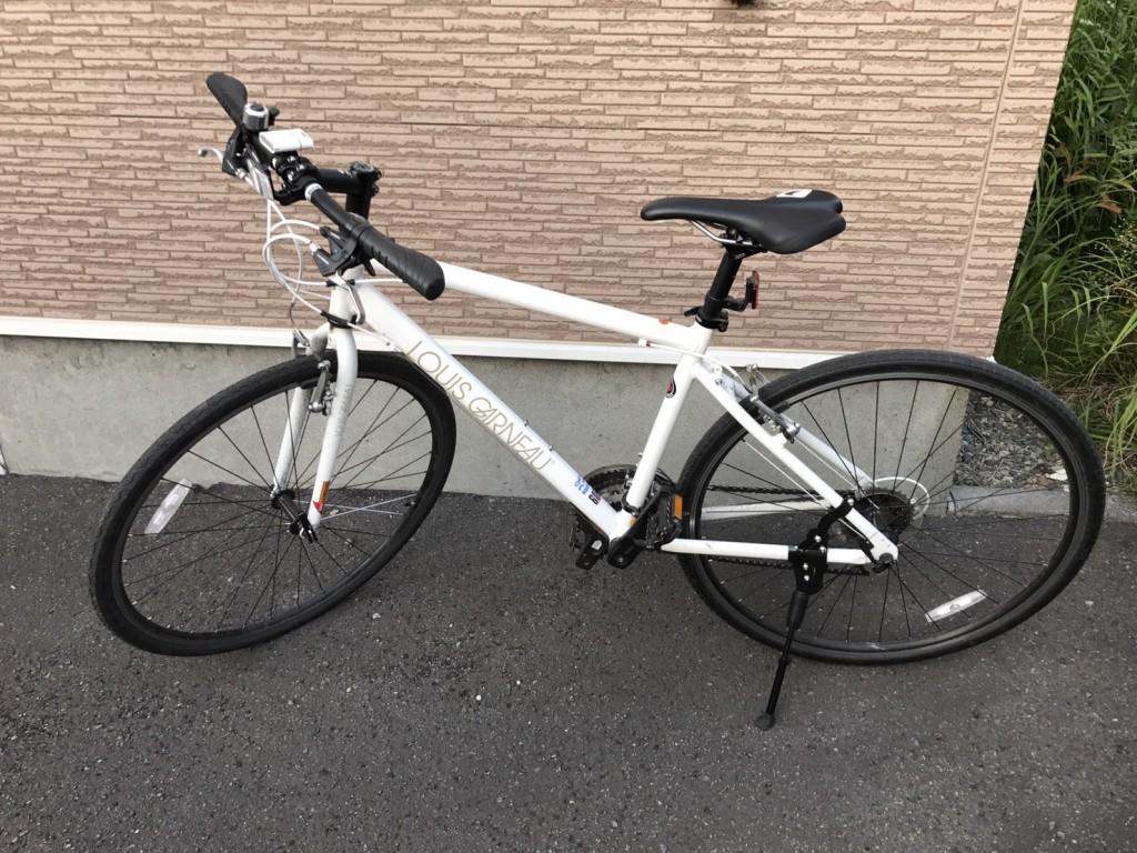 買ったクロスバイク