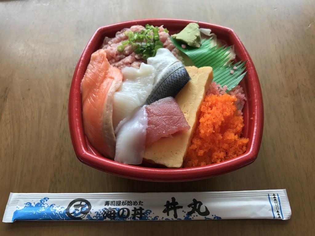 海鮮どん丼丸のまんぷく丼