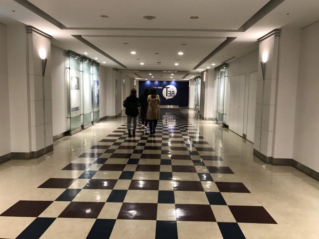 JRタワー展望室の入り口2
