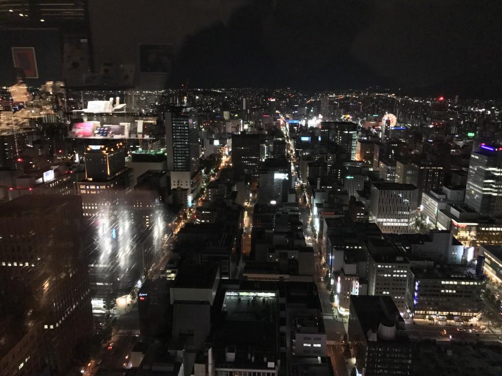 JRタワー展望室から見た夜景2