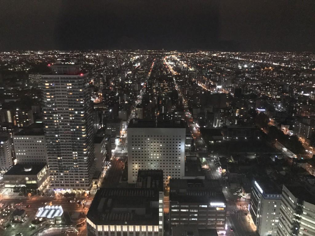 JRタワー展望室から見た夜景