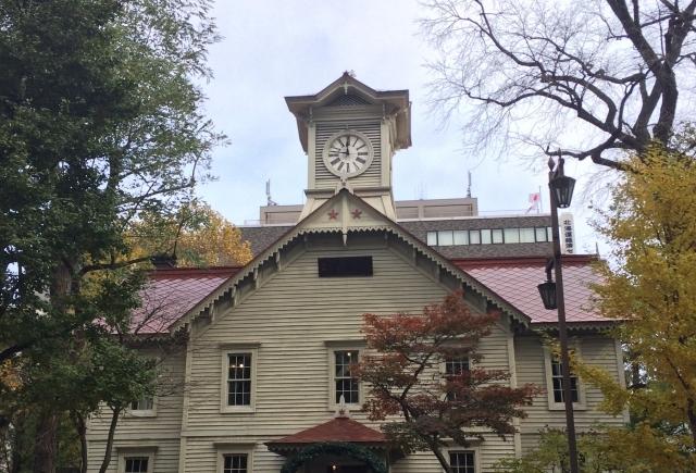 札幌時計台(さっぽろ創世スクエアができる前)