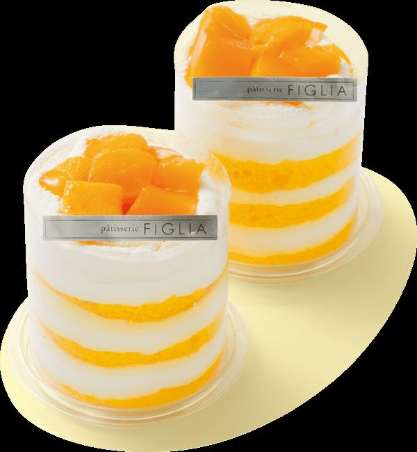 札幌三越のトロピカルショートケーキ