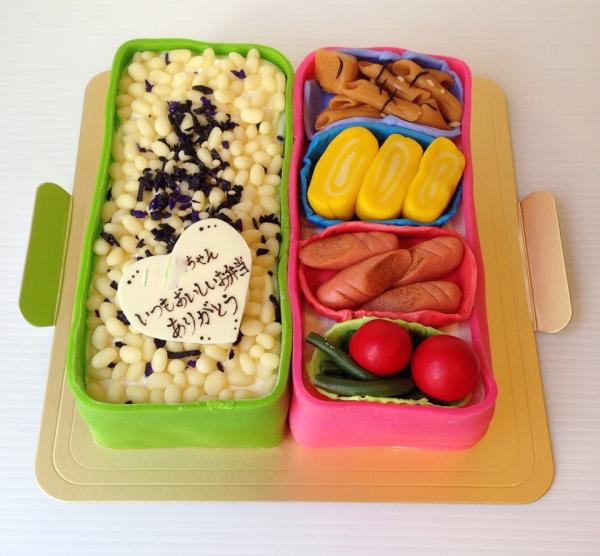 Canvas Cakesのオーダーメイドケーキ『弁当』