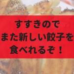【9月】すすきのにもちもち餃子のお店『なかよし餃子 エリザベス』がオープン!