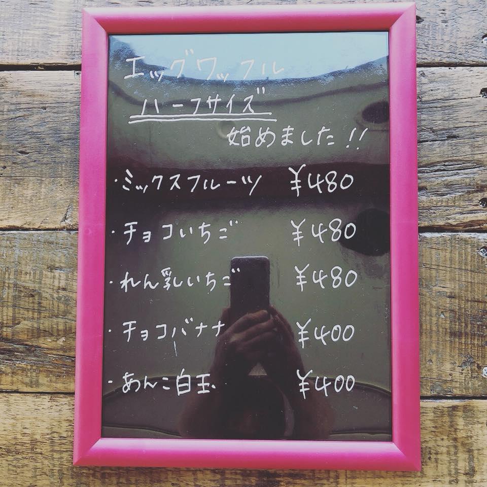 METHIのハーフサイズ料金表
