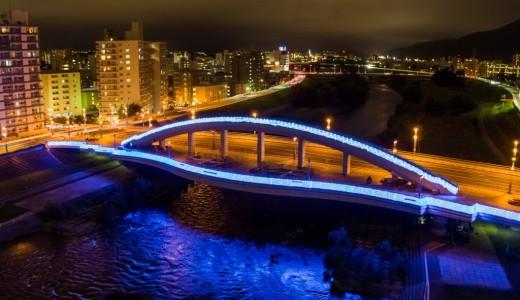 札幌の夏の風物詩『札幌川見2019』が幌平橋で開催!イルミネーションも実施!