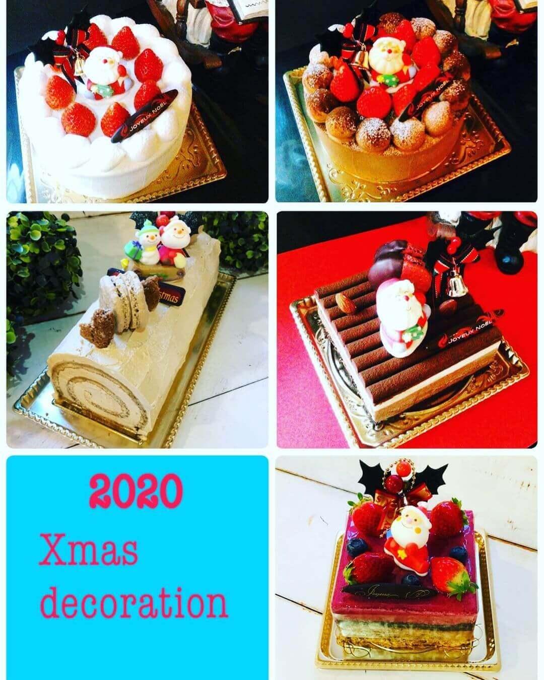 レ・リシェスのクリスマスケーキ 2020