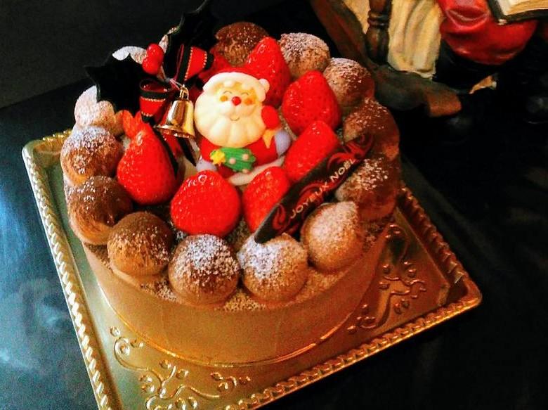 レ・リシェスのクリスマスケーキ