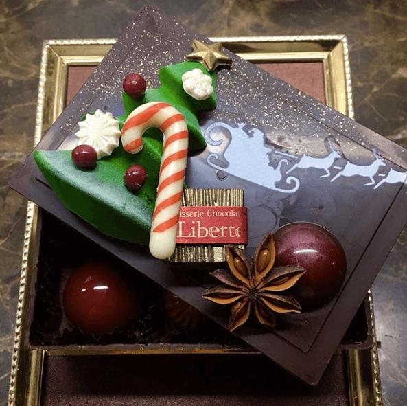 リベルテのクリスマスケーキ2019
