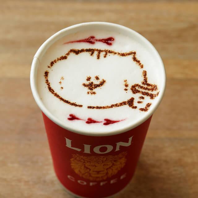 ライオンコーヒーの『タケノコのカフェラテ』