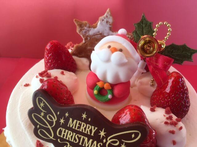 パティスリーカカオ10gのクリスマスケーキ2019