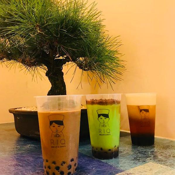 抹茶カフェ RIQ(りきゅう)でドリンクにタピオカがトッピングできるように!