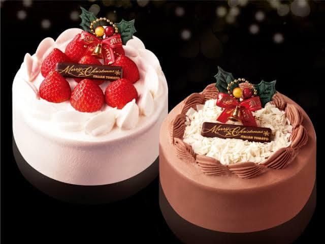 蔵味珈琲のクリスマスケーキ