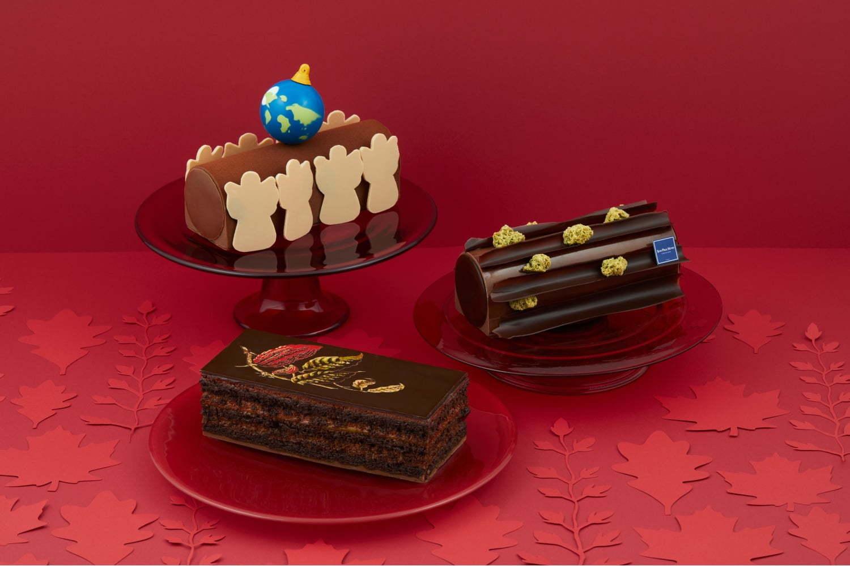 ジャン=ポール・エヴァンのクリスマスケーキ 2019