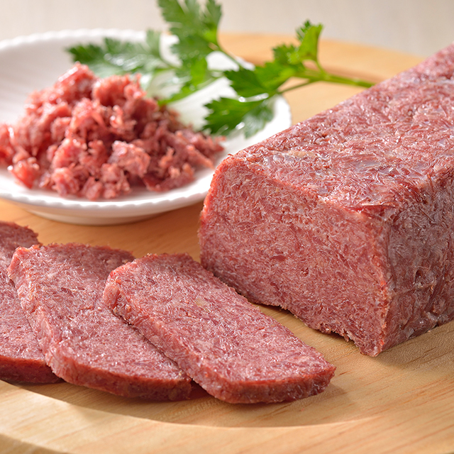 大金牛肉店のコンビーフ