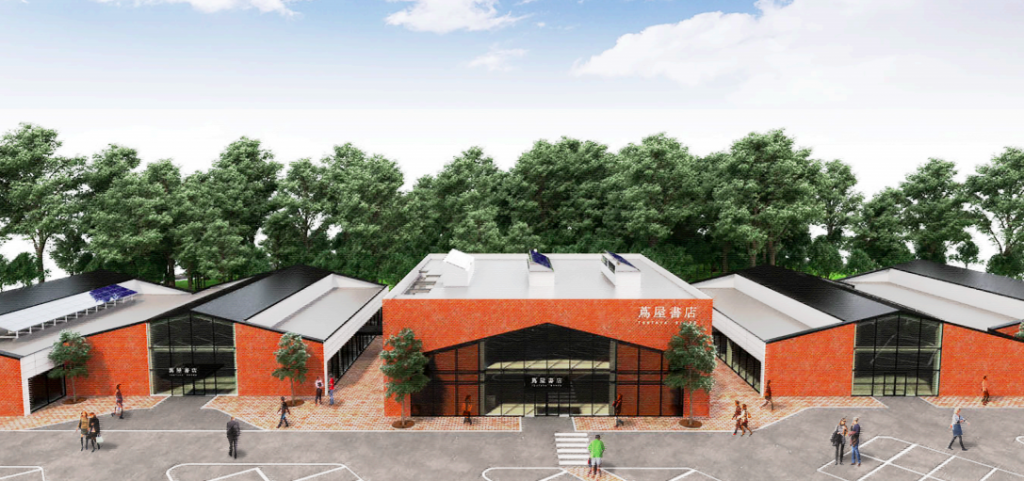 大型商業施設『江別 蔦屋(つたや)書店』が11月オープン!テナントにはスタバやバーガーショップが!