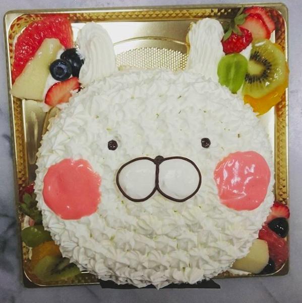 フォセットフィーユのチョイスケーキ(うさまる)