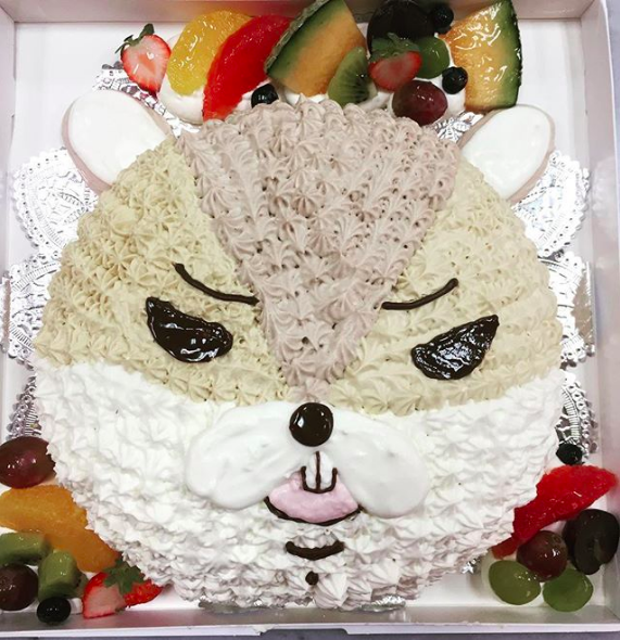 フォセットフィーユのチョイスケーキ(リス)