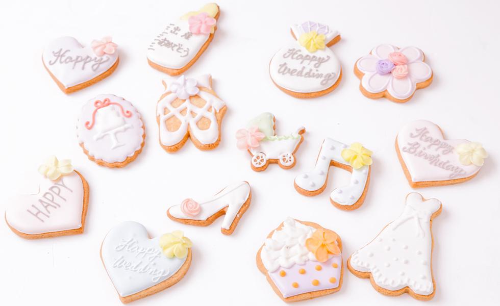 サリーズカップケーキのアイシングクッキー