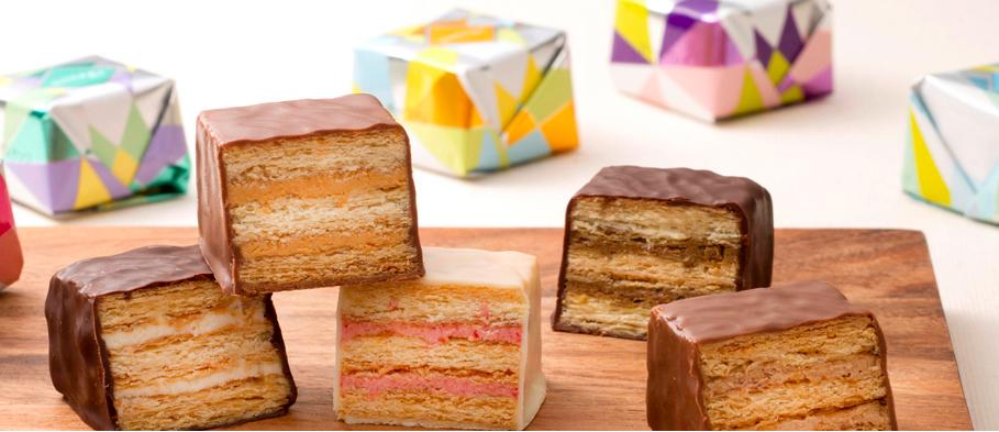 パイ菓子専門店のティサージュが大丸札幌にオープン!カラフルなミルフィーユがかわいいと話題に!
