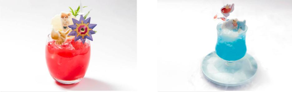 「おてんば人魚」カスミのピンクソーダとラプラスに乗って!冒険ゼリードリンク
