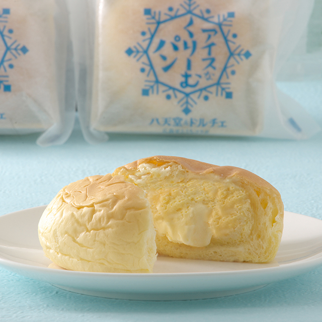 しまなみドルチェのアイスミルク アイスなくりーむパン
