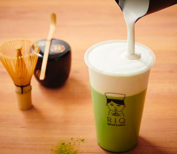 抹茶cafe RIQ(りきゅう)の抹茶ドリンク