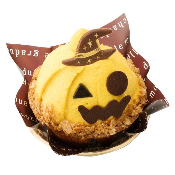 ハロウィンかぼちゃのおばケーキ