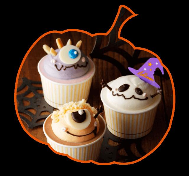 ロリオリのカップケーキ
