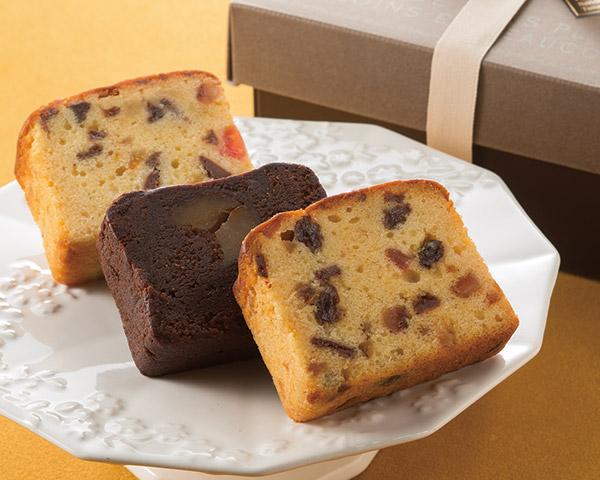 手作りケーキの店 シ・サワットのブランデーケーキ詰合