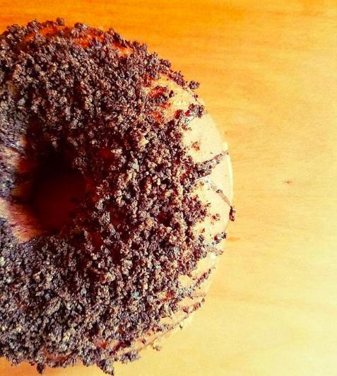 ふもわちさん。のブラックオレオドーナツ