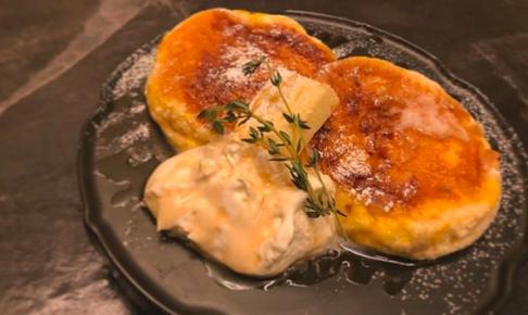 椿サロンのフレンチトーストほっとけーき