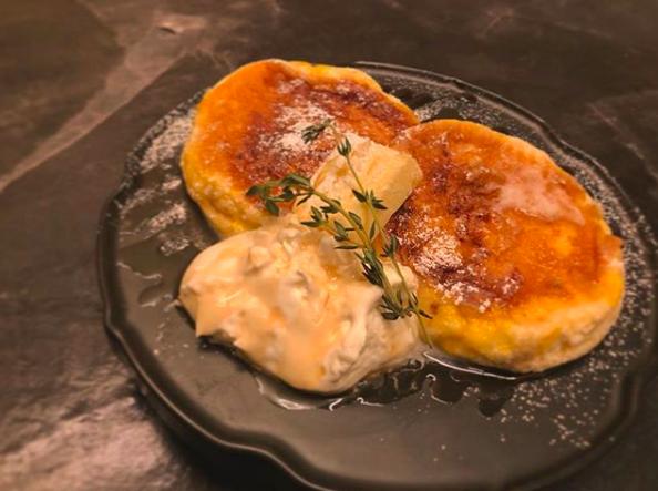 椿サロンで夜限定のフレンチトーストほっとけーきが食べれるって知ってた?