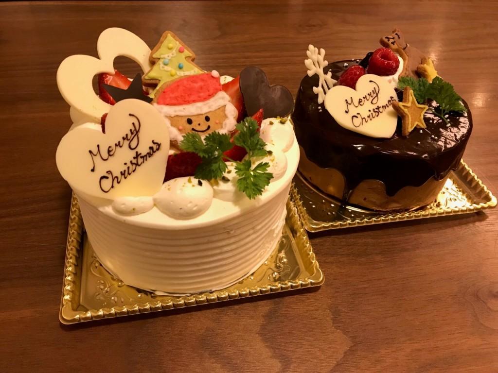 cafe hyggeのクリスマスケーキ