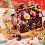 デコレーションされたチョコレートの家