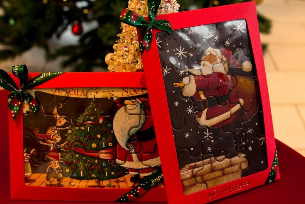 ショコラティエマサールのクリスマスパズル