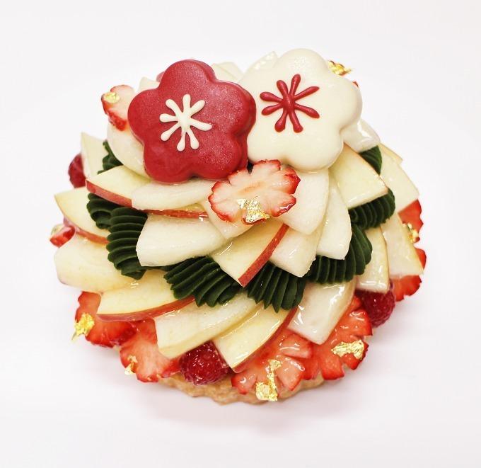 カフェコムサがお届けする正月感満載のケーキ