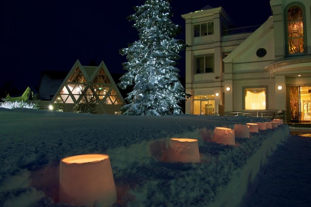【12/21~25】羊ヶ丘展望台でクリスマス期間中、夜間も無料開放を行なうぞ!
