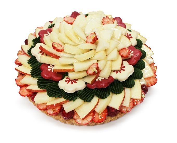 【12/26~1/2】カフェコムサで正月限定ケーキの予約が開始!まるで門松みたいなケーキが食べれるぞ!