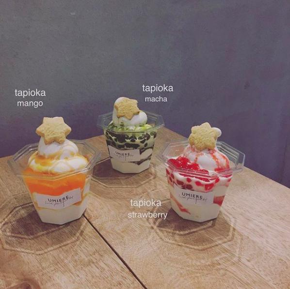 ウミエールのタピオカソフトクリーム
