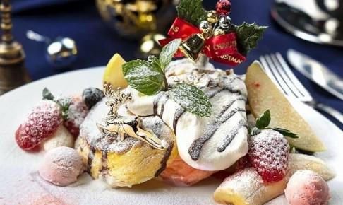 なないろパンケーキのクリスマス限定パンケーキ