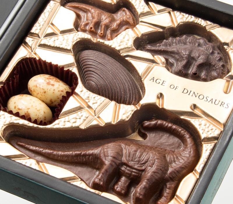 AGE OF DINOSAURSの恐竜ショコラ
