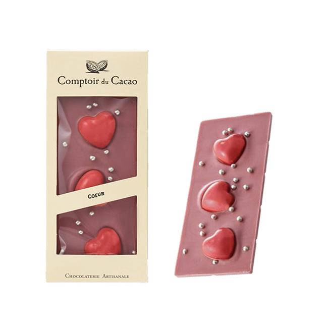 プラザのコントワール・ドゥ・カカオ グルメバー ルビー チョコレート ハート